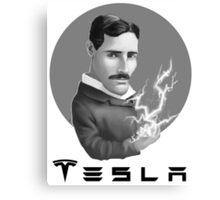 Nikola Tesla Motors Canvas Print