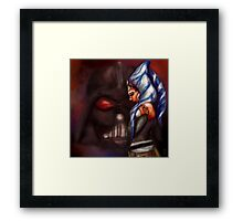 Snips and Skyguy Framed Print