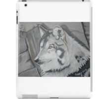 Wolf in Acrylics Number 2 \,,/ iPad Case/Skin