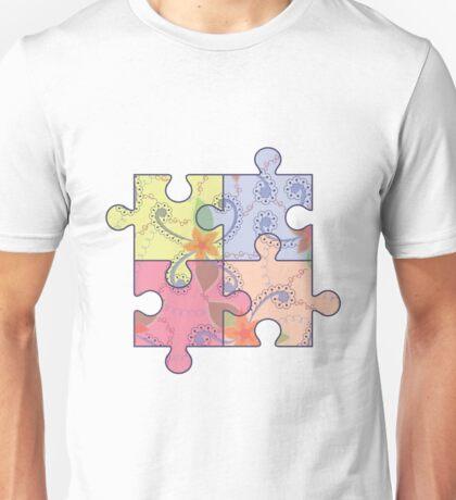 Puzzle symbol of autism Unisex T-Shirt