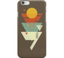 Sun. Sea. Sand. Shark. iPhone Case/Skin