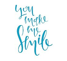 You Make Me Smile Photographic Print