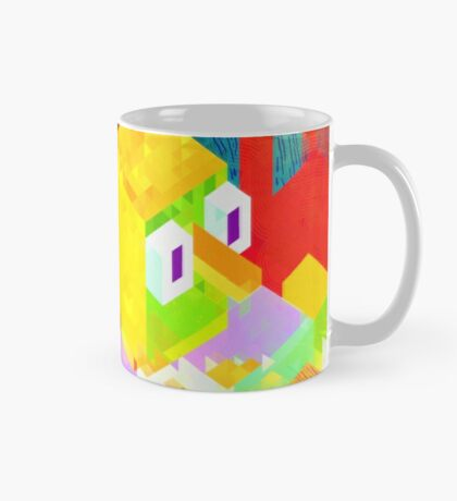 Colour Block Disconnect Mug