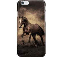 Antique tone Horse Image iPhone Case/Skin