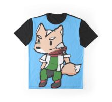 Fox Pixelated  Graphic T-Shirt