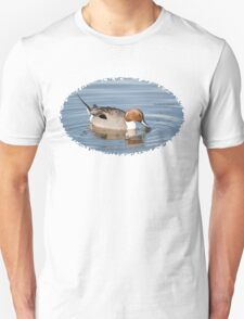 Bird Book Apparel - Northern Pintail ♂ Unisex T-Shirt