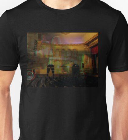 3D - A trip to the theatre  Unisex T-Shirt