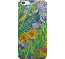 Gayle's Garden (Pastel) iPhone Case/Skin