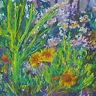 Gayle's Garden (Pastel) by Niki Hilsabeck