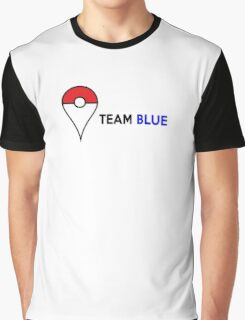 PokeGO Team Blue Graphic T-Shirt