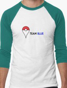 PokeGO Team Blue Men's Baseball ¾ T-Shirt