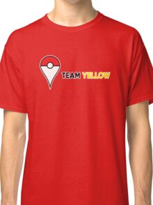 PokeGO Team Yellow Classic T-Shirt