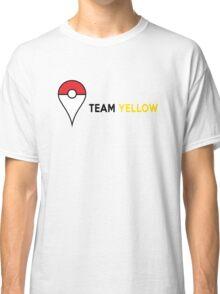 PokeGO Team Yellow Classic T-Shirt