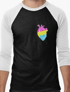 Perfectly Pansexual Men's Baseball ¾ T-Shirt