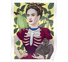 Frida by Sketchet Poster