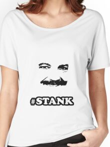 RON JEREMY FACE STANK OFFICIAL HOOT NATION SUCC hoot AND ROLL Women's Relaxed Fit T-Shirt