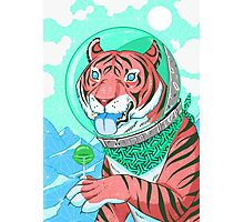Space Tiger 2 Photographic Print