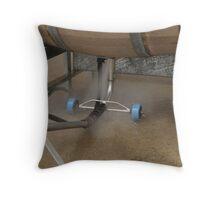 Barrels, cleaning Murrumbateman, NSW, Australia ,  Throw Pillow