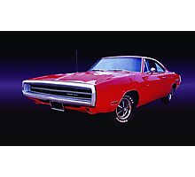 1970 Dodge Charger 500 Photographic Print