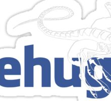 Facehugger Sticker