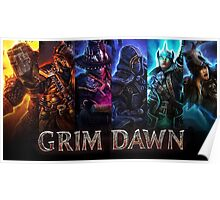 Grim Dawn Charaters Poster