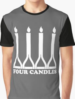 Four Candles Graphic T-Shirt