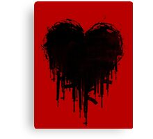 Dark Heart Canvas Print