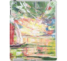 Red sail iPad Case/Skin