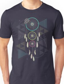 Psychedelic Dream Catcher Ambience Unisex T-Shirt