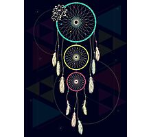 Psychedelic Dream Catcher Ambience Photographic Print