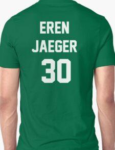 Attack On Titan Jerseys (Eren Yaeger) Unisex T-Shirt