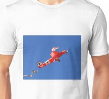Red Baron biplane kite Unisex T-Shirt