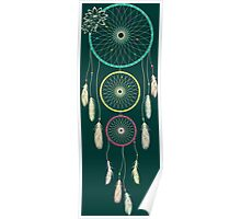 Lotus Dream Catcher Ambiance Poster