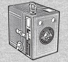 Box Camera One Piece - Long Sleeve