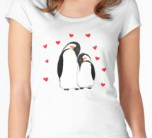 Penguin Partners - Vday edition Women's Fitted Scoop T-Shirt