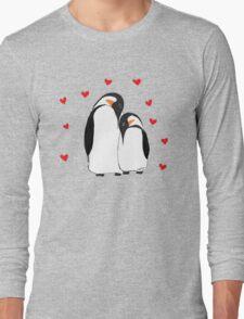 Penguin Partners - Vday edition Long Sleeve T-Shirt