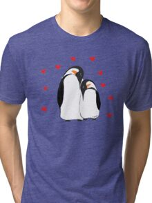 Penguin Partners - Vday edition Tri-blend T-Shirt
