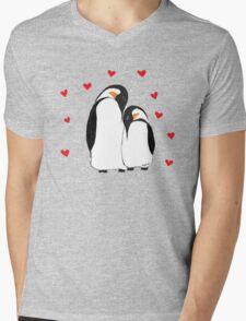 Penguin Partners - Vday edition Mens V-Neck T-Shirt