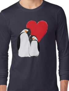 Penguin Partners - Vday edition 2 Long Sleeve T-Shirt