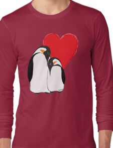 Penguin Partners - Vday edition 2 Long Sleeve T-Shirt