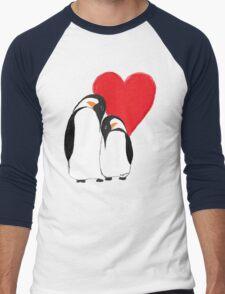 Penguin Partners - Vday edition 2 Men's Baseball ¾ T-Shirt