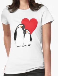 Penguin Partners - Vday edition 2 Womens Fitted T-Shirt