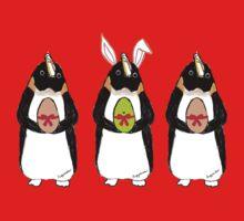 Easter Bunny-Penguin Kids Tee
