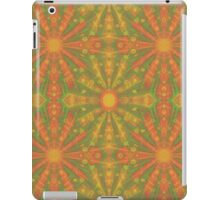 """Sunshine"" abstract pattern in orange and yellow tones iPad Case/Skin"