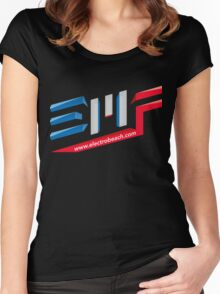 EMF Electro Beach Festival Women's Fitted Scoop T-Shirt