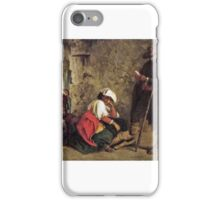 Keeley Halswelle - Waiting for Hire - Scene at the Marcellus Theatre iPhone Case/Skin