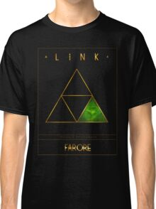 Triforce Designs - Farore's Courage Edition Classic T-Shirt