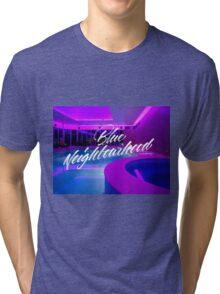 Troye Sivan Blue Neighborhood Poolside Tri-blend T-Shirt