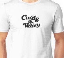 Curds & Whey (Black) Unisex T-Shirt