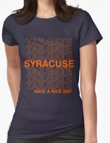 Syracuse Tailgate Womens Fitted T-Shirt